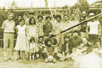 Hrant'ın kampına fidan diktiler
