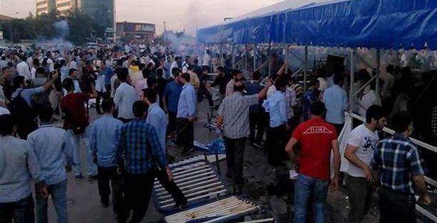 Hüda-Par'lılar Diyarbakır'da iftar çadırına saldırdı