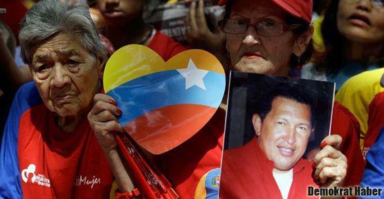 Hugo Chavez 'iyiye gidiyor'