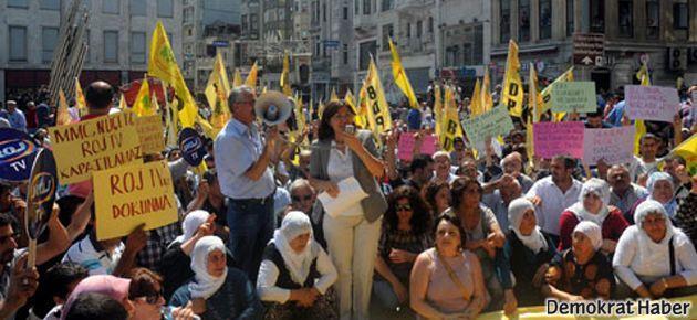 'Hükümet adım at' yürüyüşüne polis engeli