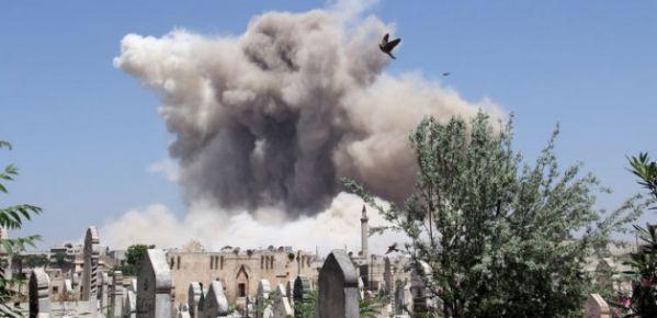 Humus'ta patlama: En az 37 ölü!