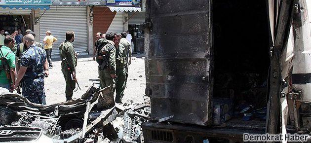 Humus'un Alevi mahallesinde bomba