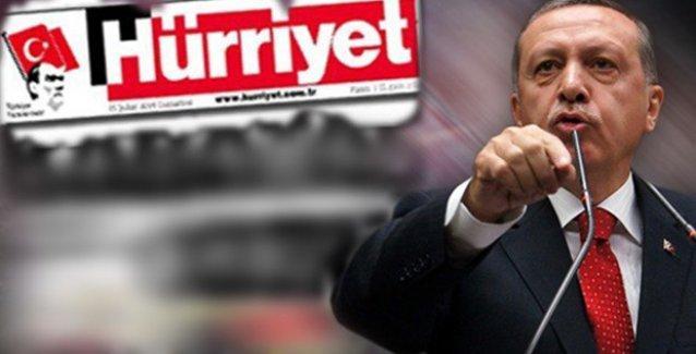 Hürriyet'e tutuklama talebiyle suç duyurusu: 'Erdoğan'a diş bilendi'
