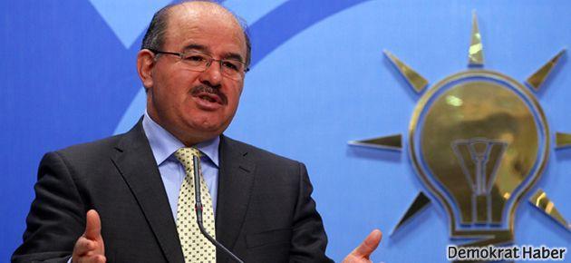 AKP'li Çelik'ten itiraf: Operasyonu Başbakan başlattı