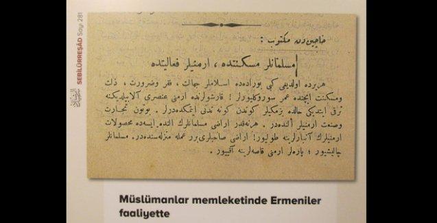 İBB'den 'hain Ermeni', 'asker kaçağı Rum' sergisi!
