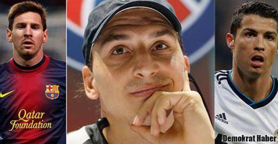 Ibrahimovic, Messi ve Ronaldo'yla alay etti