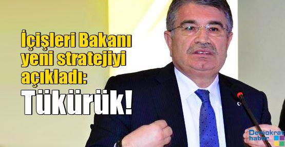 İçişleri Bakanı yeni stratejiyi açıkladı: Tükürük!