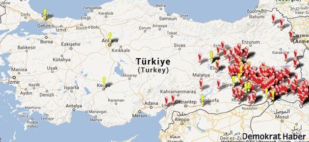 İHD Diyarbakır Şubesi'nden toplu mezar haritası