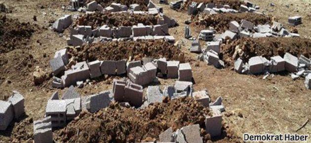 İHD: Mezarlara saldırının izahı yok