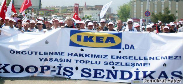 IKEA'nın sendikal ikiyüzlülüğü