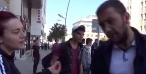 İki erkek, yolda sigara içen kadına 'niye oruç tutmadın' diyerek saldırdı!