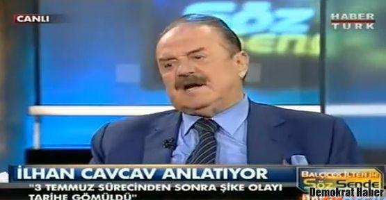 İlhan Cavcav'dan canlı yayında şike itirafı!