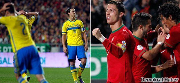 İlk raund Ronaldo'nun