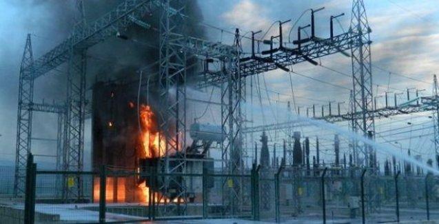 İlk trafo Viranşehir'de yandı: Elektrikler kesik