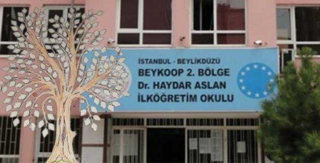 İlkokul öğrencilerine aylık namaz ağacı resmi dağıtıldı