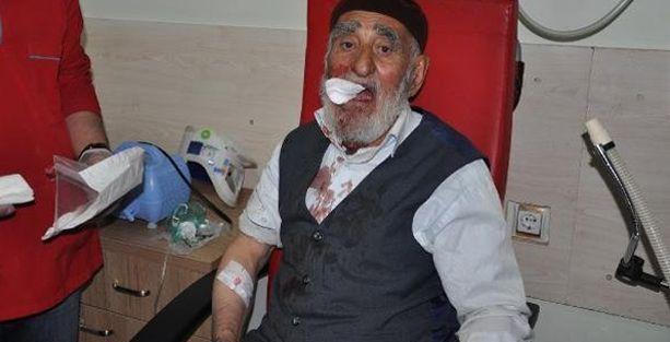 İmam 77 yaşındaki adamı tekme tokat dövdü