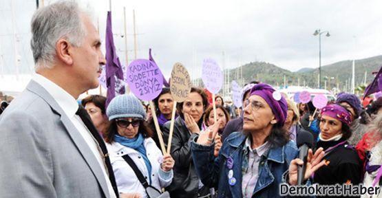 İmam'dan kadınlara: Cami yanında 8 Mart eylemi olmaz
