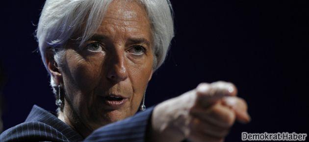 IMF ABD'yi uyardı