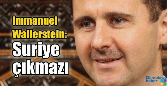 Immanuel Wallerstein: Suriye çıkmazı