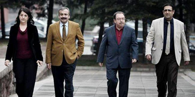 HDP heyetinden Kandil açıklaması