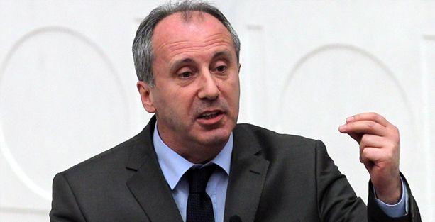 Muharrem İnce'den istifa kararı