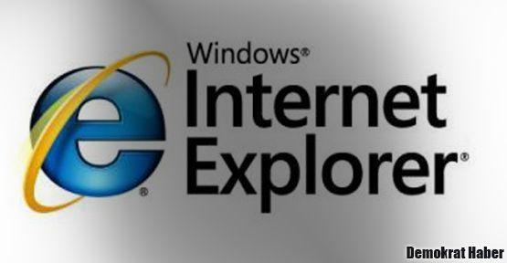 'Internet Explorer kullanmayın'