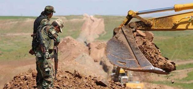 Irak-Suriye sınırına kazılan hendek krizi tırmanıyor