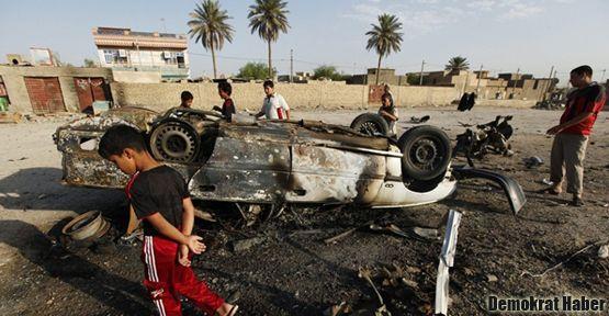 Irak'ta 13 saldırıda en az 91 kişi öldü