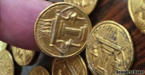 Irak'ta 1400 yıllık 66 altın bulundu