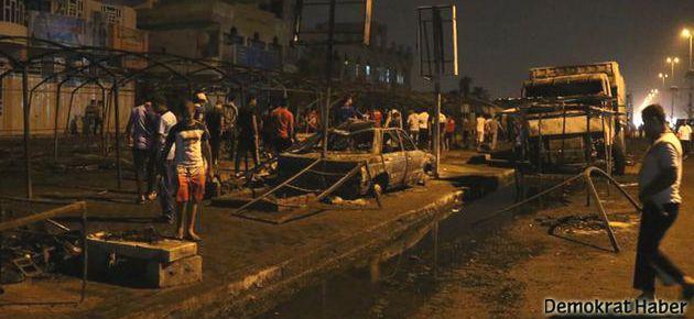 Irak'ta taziye çadırına saldırı: 65 ölü