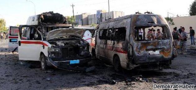 Irak'ta yine bomba yüklü araç