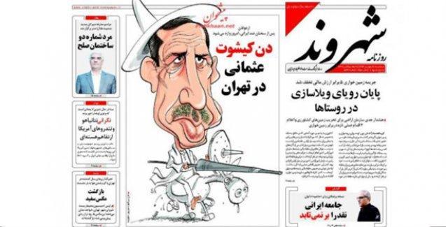 İran basını: 'Osmanlı Don Kişot'u Tahran'da'