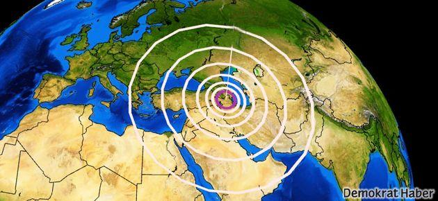 İran'da 7.8'lik deprem
