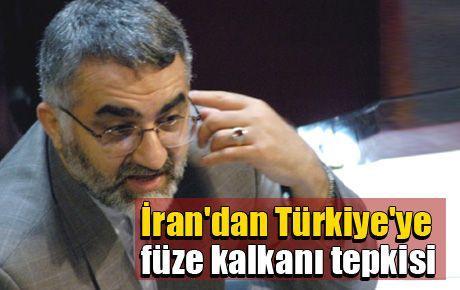 İran'dan Türkiye'ye füze kalkanı tepkisi