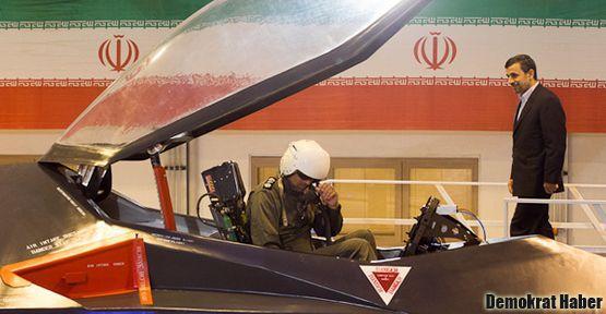 İran'ın yeni uçağı tanıtıldı