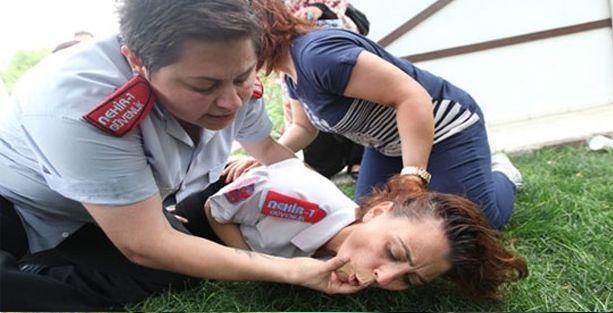 İrfan Şahinbaş Atölye Sahnesi çalışanları darp edildi