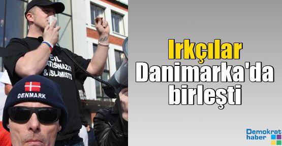 Irkçılar Danimarka'da birleşti