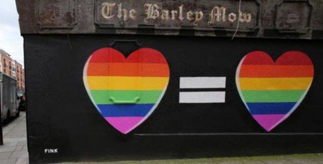 İrlanda eşcinsel evliliğe 'evet' dedi