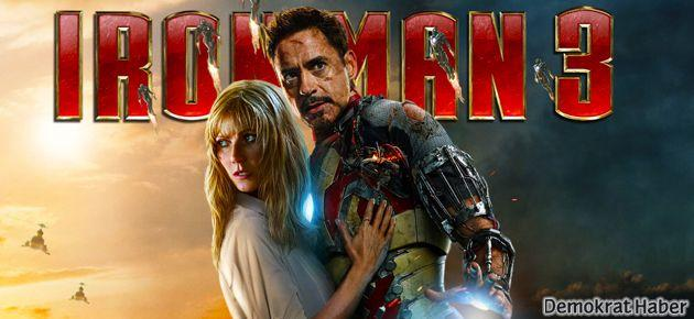 Iron Man 3 filmi rekorları devirdi