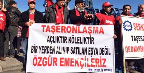 İş cinayetleri ve taşerona karşı Diyarbakır'da miting
