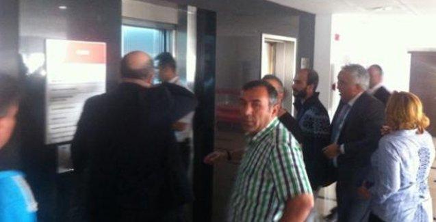 İşçiler CHP Genel Merkezi İşgal etti