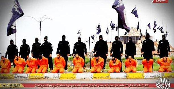 IŞİD, Tikrit'te katliam yaptı