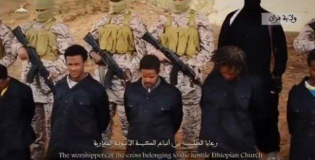 IŞİD 30 Hırıstiyan'ı katletti