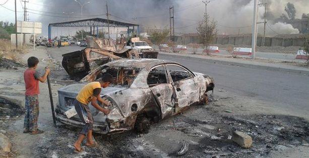 IŞİD Bağdat'a ilerliyor!