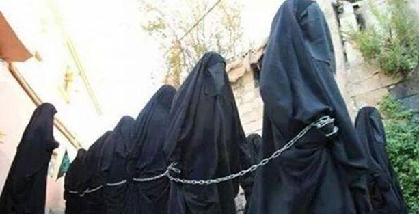 'IŞİD, bin 500 kadını kaçırdı, pazarlarda satıyor'