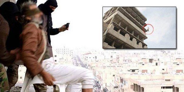 IŞİD, bir kişiyi daha eşcinsel olduğu gerekçesiyle bir binadan aşağı atarak katletti!