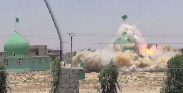 IŞİD cami ve türbeleri bombaladı