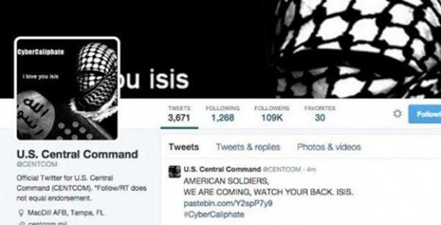 IŞİD, CENTCOM'u hackledi