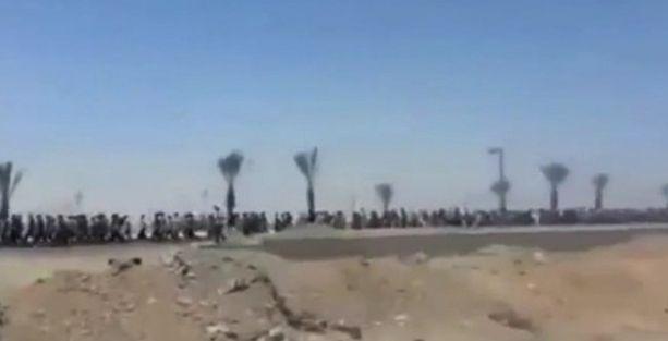 IŞİD, esir aldığı 4 bin 500 Irak askerini böyle yürüttü