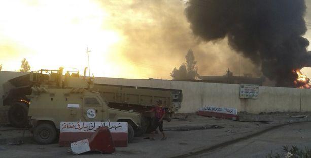 IŞİD Kerkük'e ilerliyor
